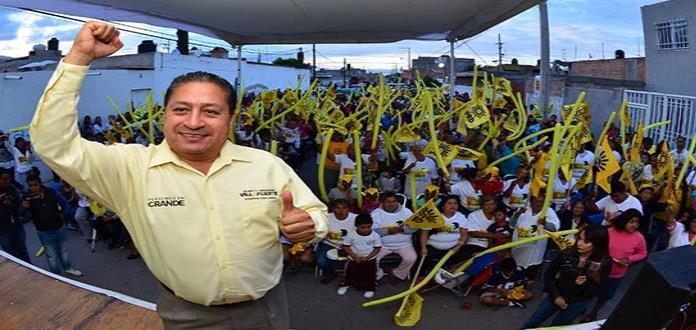 Gilberto Hernández Villafuerte realizará cierre de campaña en la plaza principal de SGS