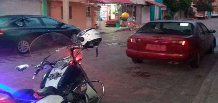 Localizan en Villa de Pozos, automóvil robado