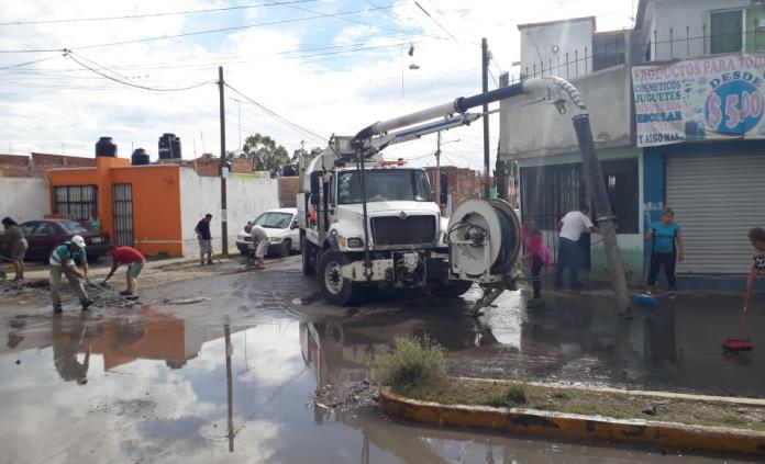 Tras lluvias, extraen más de 25 toneladas de basura en drenajes capitalinos