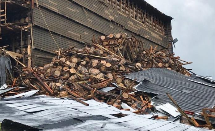 Colapsa bodega en Kentucky con 18 mil barricas de whiskey