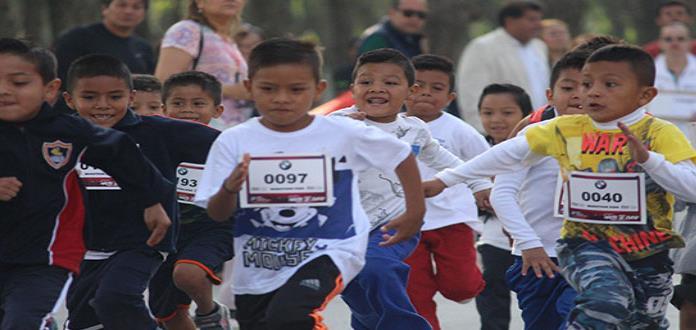 Maratón Kids se realiza con gran éxito