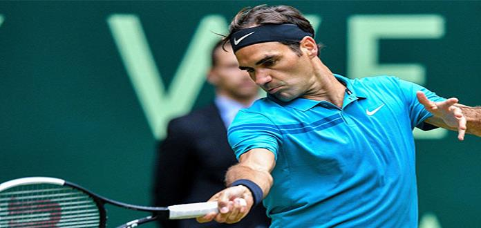 Federer a final de Halle, busca su 99no. cetro