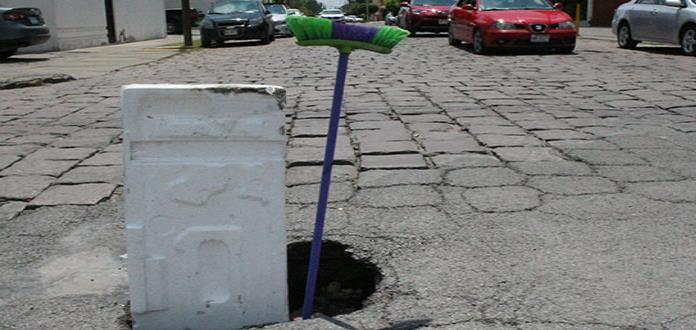 Se abre un agujero en Cuauhtémoc