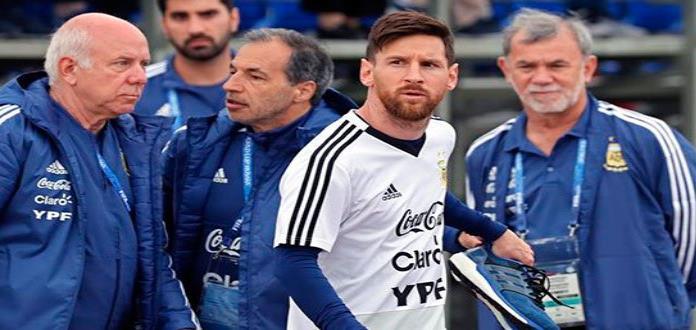 Messi celebra 31 años de magia y con el deseo de seguir en Rusia