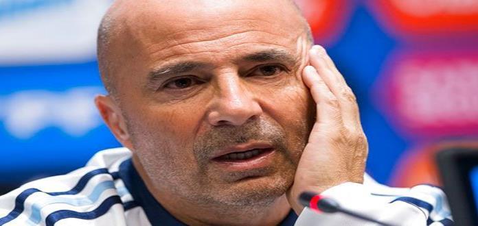 Jugadores niegan rebelión contra Sampaoli en Argentina