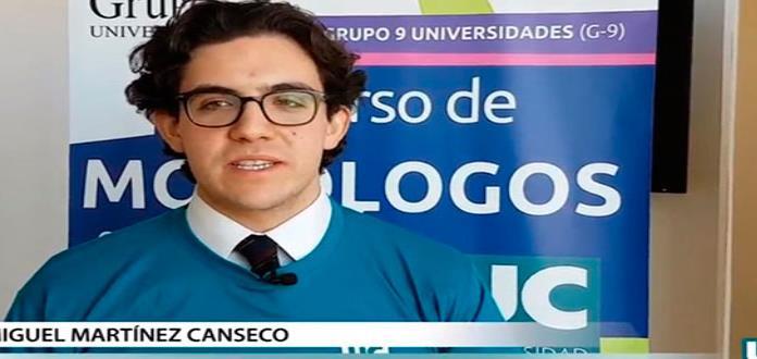 Alumno de UASLP triunfa en España con monólogo