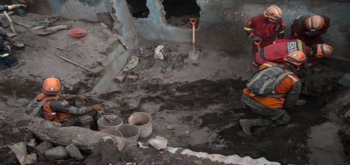OIM apoya a Guatemala por la tragedia del volcán