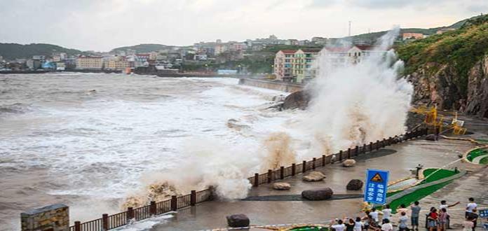 """Evacuan a más de 3 mil por """"María"""" en Taiwán"""