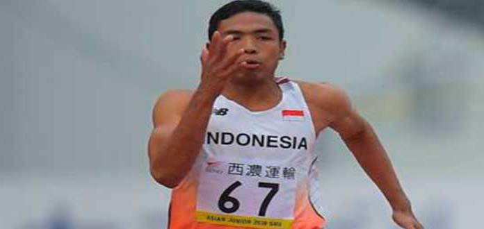 Indonesio Zohri, rey de 100 mts. en Mundial