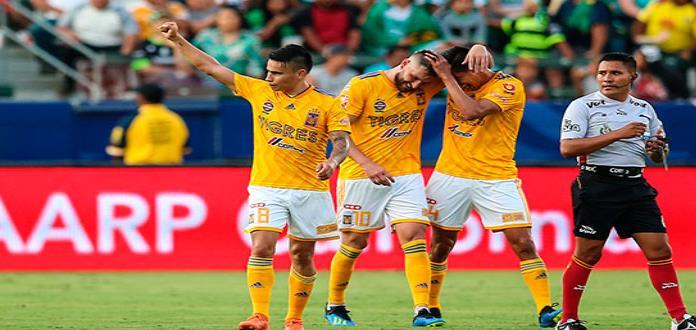 Tigres golea 4-0 a Santos y es Campeón de Campeones