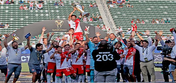 Necaxa es campeón de la Supercopa MX