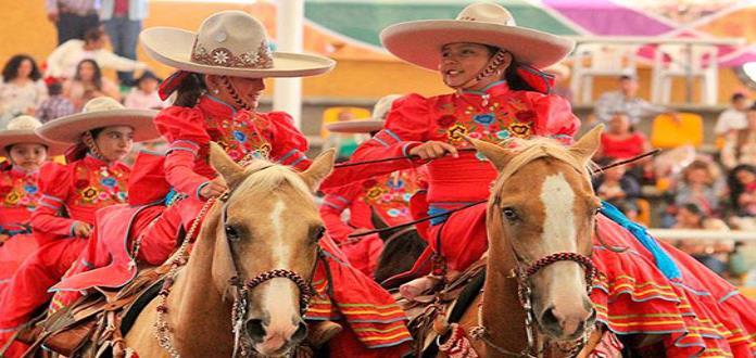 Destacó la Escaramuza Nobleza Charra en Querétaro