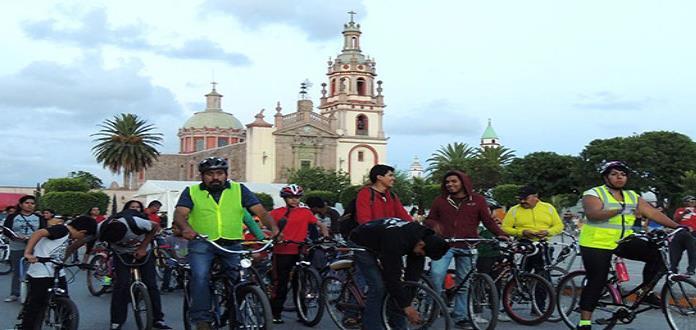 Alistan rodada ciclista a ex Hacienda Pozo de Luna