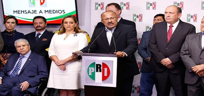 """Cambio en PRI, del tamaño de la derrota"""