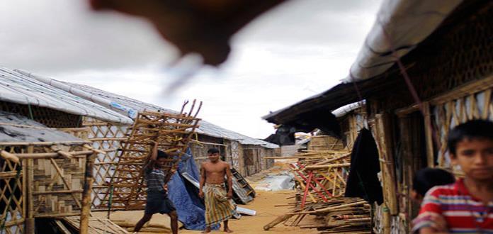 Sin un lugar al que huir, los refugiados rohinya esperan al monzón