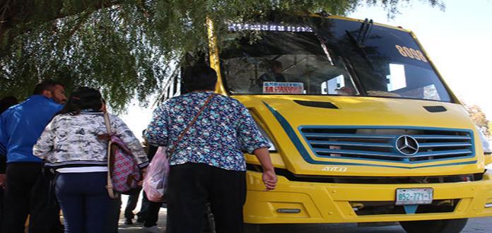 Detienen a 22 presuntos delincuentes que operaban a bordo del transporte público