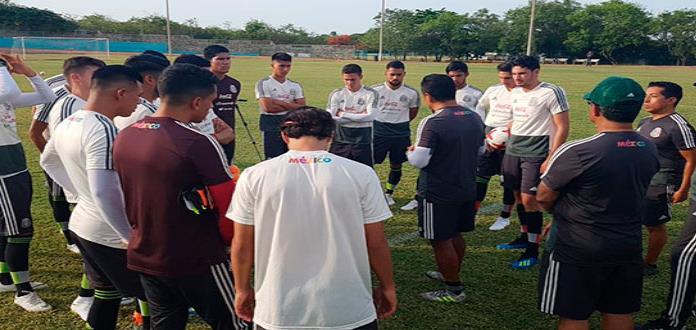 Selección Mexicana Sub-21 llegó a Barranquilla