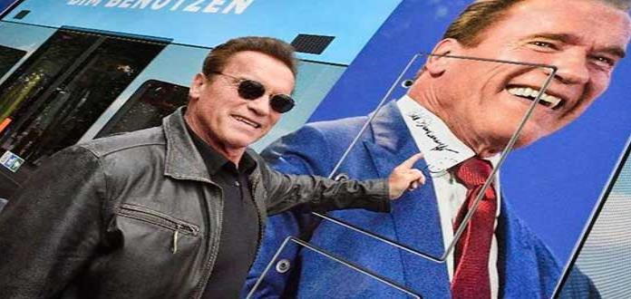 Subastan autógrafo de Schwarzenegger