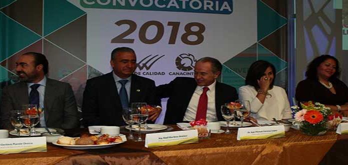 """Convoca Canacintra al """"Premio de Calidad"""""""