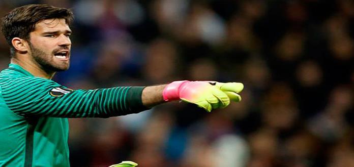 El Liverpool anuncia el fichaje del portero brasileño Alisson Becker