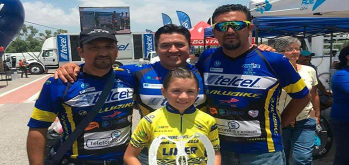 Brilla Alexa Bárcenas en Nacional de Ciclismo