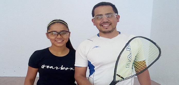 Animado arranque en el Abierto de Racquetbol en PV