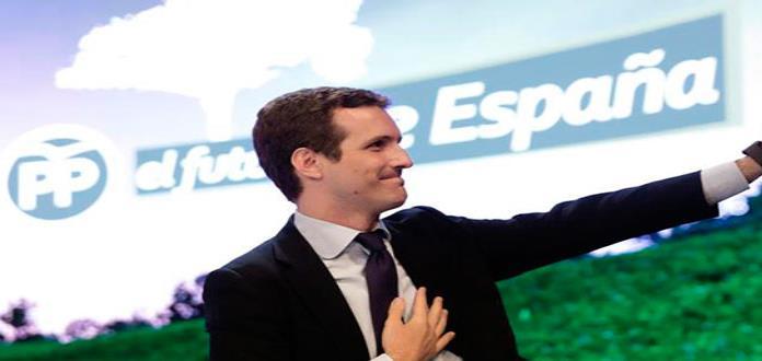 Elige Partido Popular de España a Pablo Casado como nuevo presidente