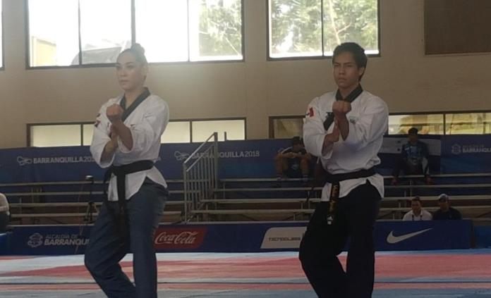 México se cuelga medalla con oro en taekwondo de formas en JCC