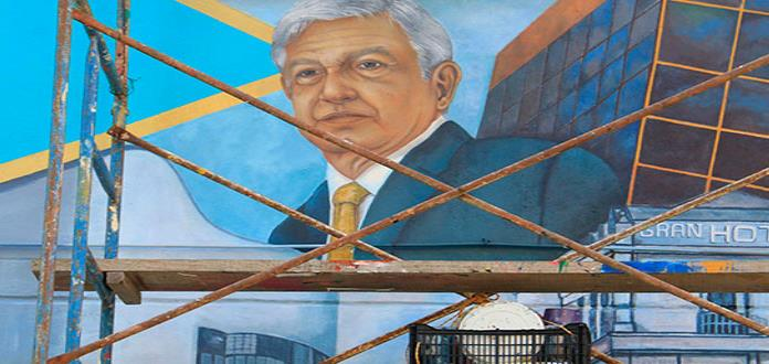 Inmortalizan A Amlo En Mural De Tabasco
