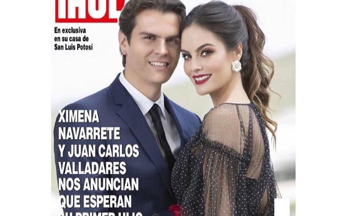 4dde7f902f1 Ximena Navarrete y Juan Carlos Valladares esperan su primer bebé