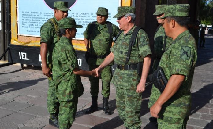Juan Antonio cumple sueño de ser soldado por un día