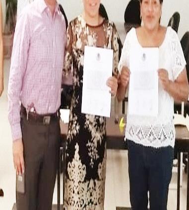 Tras resolución del tribunal, la priista Bernarda Reyes recibe constancia como diputada federal electa