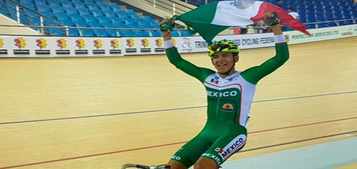 Ciclistas aztecas logran oro en el Panamericano Jr.