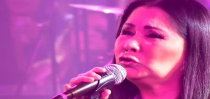 Ana Gabriel, espectacular