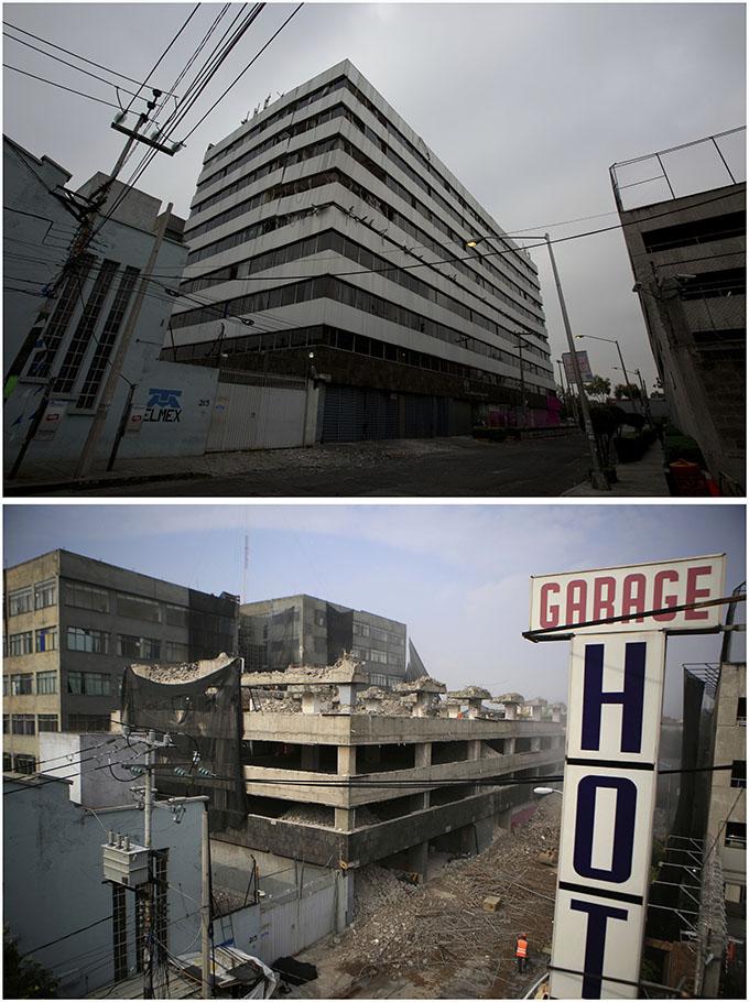 Resultado de imagen para edificios reconstruidos cdmx