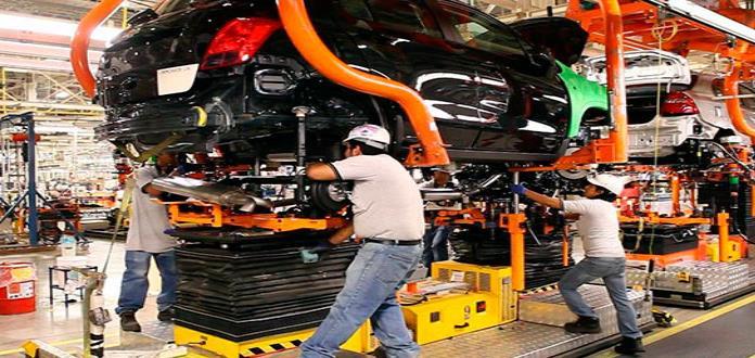 SLP, tercero en aumento de actividad industrial