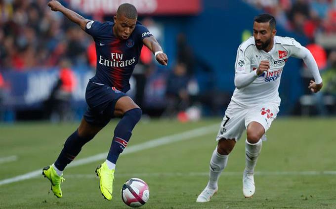Sin Neymar, el París Saint Germain prolonga su pleno de victorias con una goleada