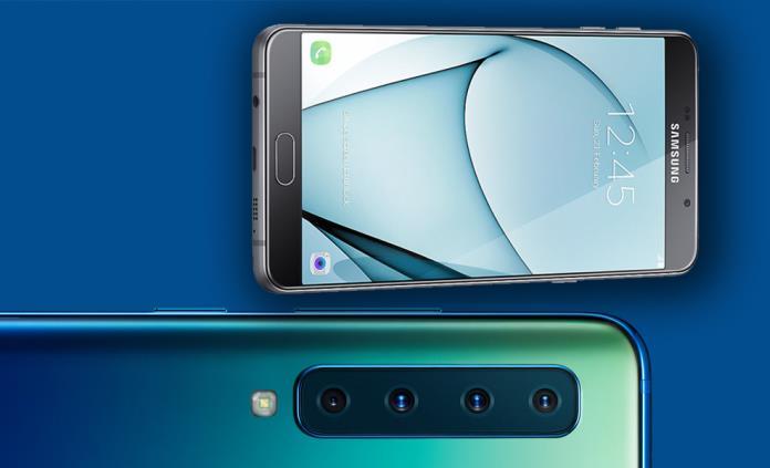 20b81339fc0 Llega a México teléfono con cuatro cámaras de Samsung