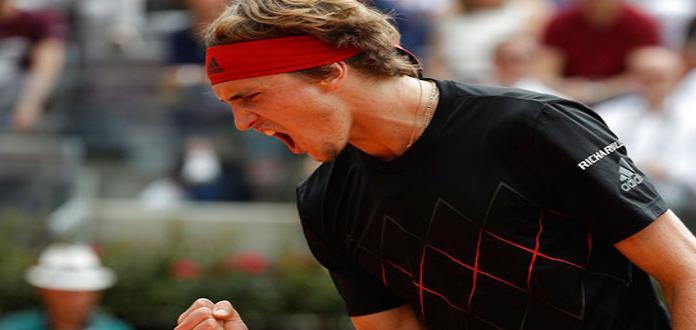 Alexander Zverev logra primer triunfo en Finales ATP al vencer a Cilic
