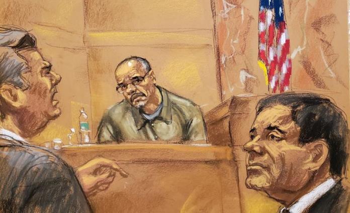 Capo colombiano habla en juicio de su estrecha relación con El Chapo