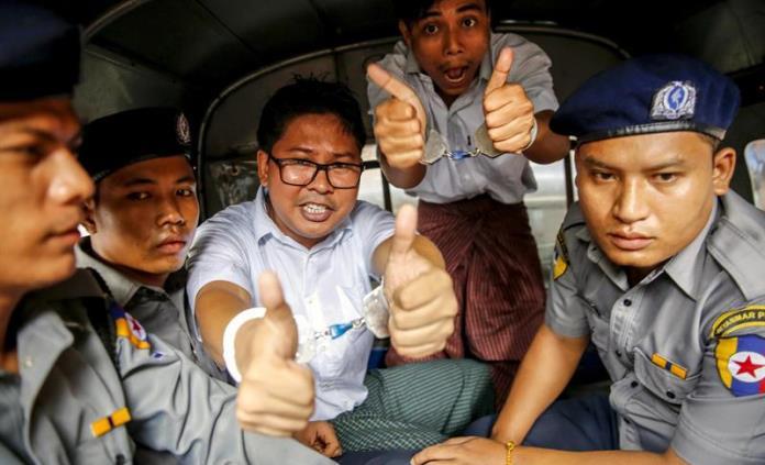 Juez rechaza apelación de corresponsales extranjeros presos en Myanmar