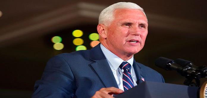 Vicepresidente de EUA insiste en construir un muro fronterizo