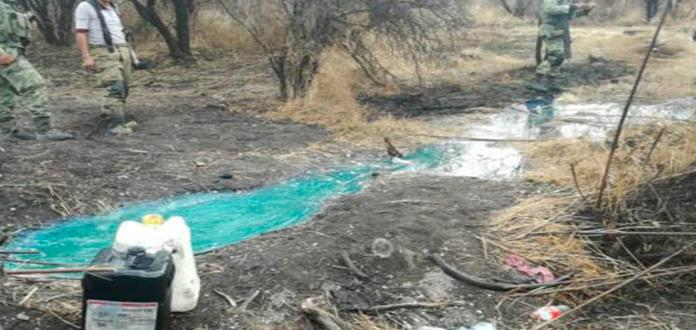 Encuentran otra toma clandestina de combustible en León, Guanajuato
