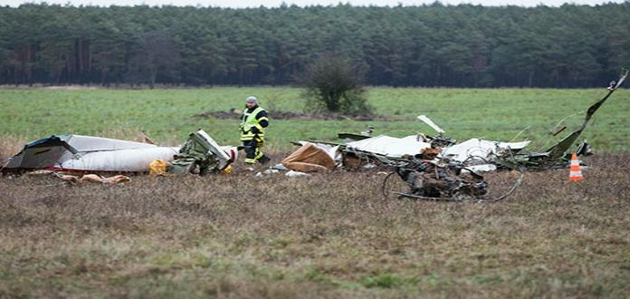 Dos muertos al estrellarse avioneta en Alemania