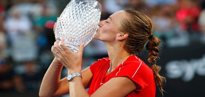 Kvitova supera a Barty y se corona en Sydney