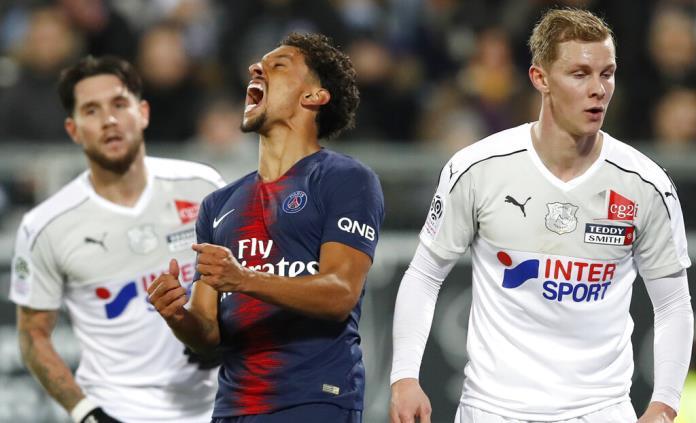 Sin complicaciones, PSG gana 3-0 a Amiens en Liga de Francia