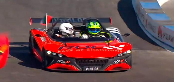 El mexicano Benito Guerra es campeón del Race Of Champions (VIDEO)