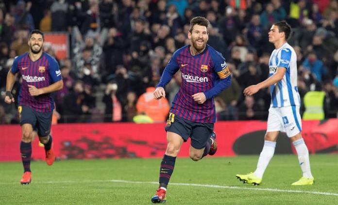 Barcelona derrota a Leganés y se mantiene en el liderato de Liga en España