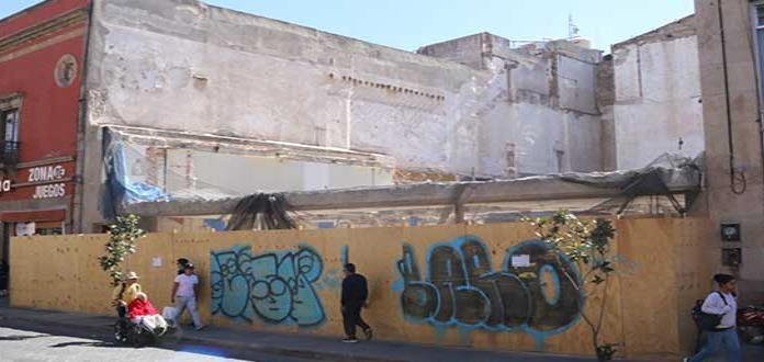 Edificio demolido no tenía un valor histórico: Narváez
