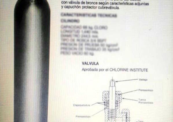 PC-SLP, en alerta por cilindro  con cloro robado en Guanajuato